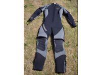 Oceanic Shadow Titanium 2 Piece Ladies Semi-dry suit