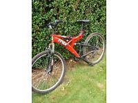 Men's trax full suspension mountain bike