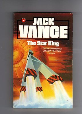 Used, THE STAR KING - JACK VANCE -VINTAGE SCI-FI P/BACK -1980 for sale  Shipping to Ireland