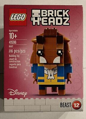 Lego Brick Headz Beast 41596 NEW #12 Beauty and The Beast Disney