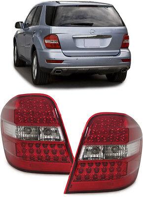 LED Rückleuchten rot klar für Mercedes ML W164