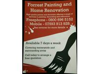 Painter and Decorator - Forrest Painting and Home Renovation