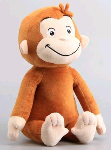 CURIOSO COME GEORGE PELUCHE 33Cm Curious Curios Cartone Animato Scimmia Tv Plush