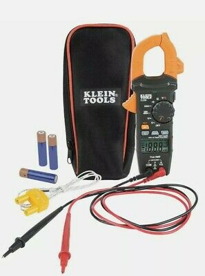 Klein Tools Cl220 Digital Clamp Meter Ac Auto-ranging 400 Amp With Temp Trms