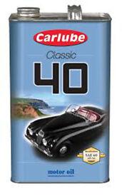 Carlube Classic 40 motor oil 4.55L