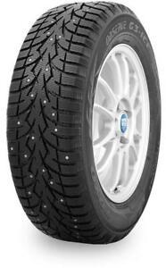 225/65/17 Toyo G3-Ice Factory Studded Tires  Blowout Sale!!! Edmonton Edmonton Area Preview