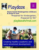 Playdaze- FT, PT, and 24 hr care