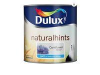 Dulux Cornflower White Matt Paint 2.5L