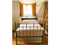 Beautiful antique bed frame and mattress / open to offers/ make an offer