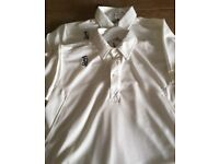 Boys Kookaburra cricket tops x 2. Immaculate. Aged 14 years