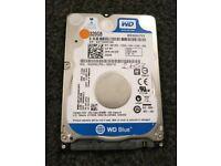 """2.5"""" 320GB Western Digital Blue Hard Drive HDD"""