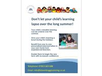Klever Kloggs Tutoring. Don't let your child's learning slip over the summer.