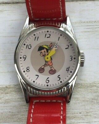 Disney Timex Ingersoll Pinocchio Watch 1948 Reproduction 1497 of 2000