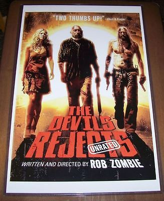The Devil's Rejects 11X17 Movie Poster Alternate Version Sid Haig Rob Zombie