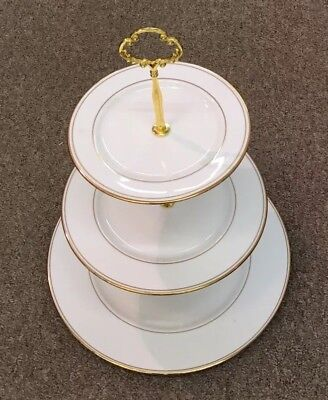 Lenox 3-tier Hostess Tidbit Tray Top 8 1/2""