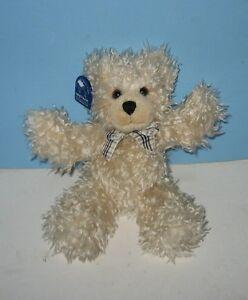 Applause-11-Eddie-the-Bean-Plush-Shaggy-Teddy-Bear-Pal-w-Tag