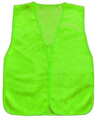 General Purpose Flourescent Green Mesh Construction Working Traffic Safety Vest