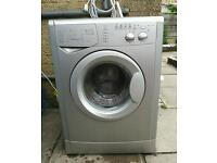 Indesit 6kg 1400 spin + 6 month warranty free delivery