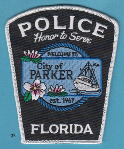 PARKER FLORIDA POLICE SHOULDER PATCH