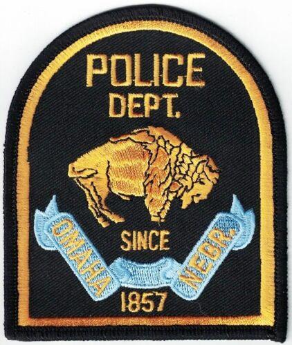 Omaha Police Dept. Nebraska Face Right Police Department NE Nebraska Patch