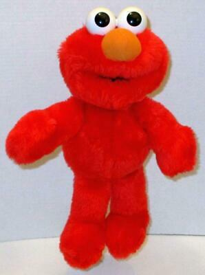 "VINTAGE 1995 TYCO CUDDLE ELMO 14"" SESAME STREET SOFT STUFFED PLUSH DOLL TOY"