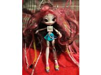 Robot Electra swiggly hair doll