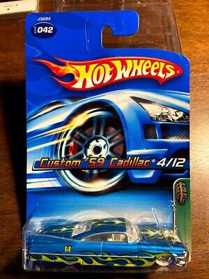 Hot Wheels 2006 Custom 59 Cadillac Super Treasure Hunt T-hunt