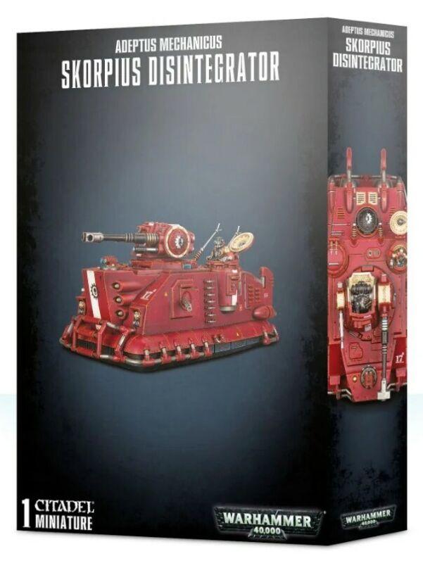 Skorpius Disintegrator Adeptus Mechanicus Warhammer 40K No Box NEW!
