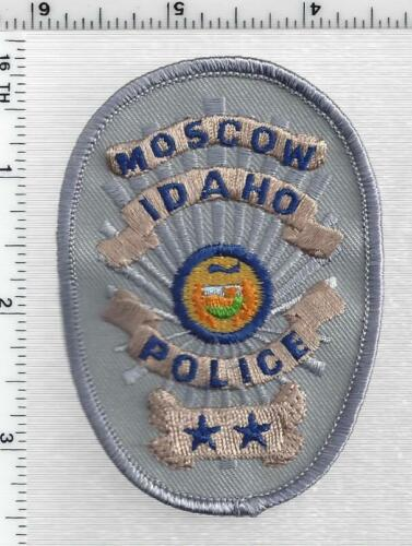 Moscow Police (Idaho) 1st Issue Cap/Hat Patch