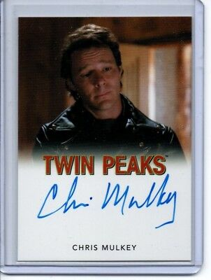 Twin Peaks Autograph Card Chris Mulkey/Hank Jennings