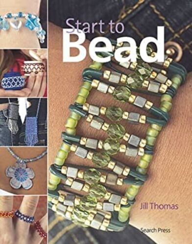 Beading Pattern Book ~ START To BEAD ~ Necklaces, Bracelets, Rings, Earrings, +