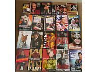 WWE WWF WCW ECW Wrestling Books £5 Each