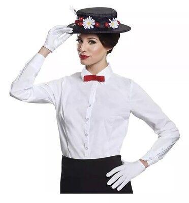 Erwachsene Damen Disney Mary Poppins Halloween Kostüm-zubehör Satz Hut
