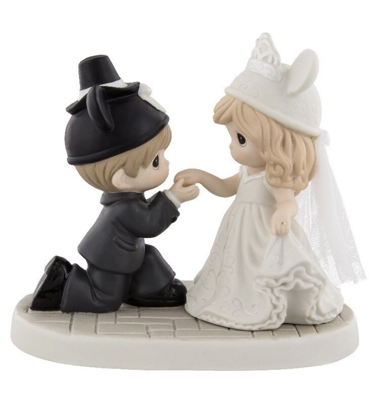 Disney Precious Moments Wedding My Dream Come True Figurine New with Box