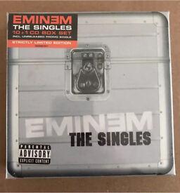 Eminem The Singles Box Set Sealed Rare Slim Shady