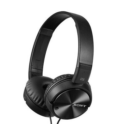 Sony Noise Cancelling MDR-ZX110NC On-Ear Headphones MDRZX110NC Black