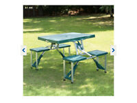 Brand new foldable picnic table