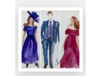 Live Event Illustrator for corporate events , gala dinners , private parties