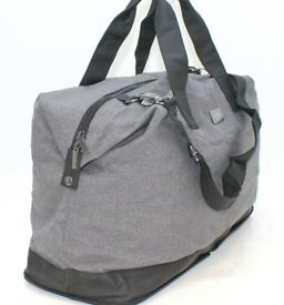 HUGO BOSS GREY & BLACK FOLDABLE TRAVEL BAG