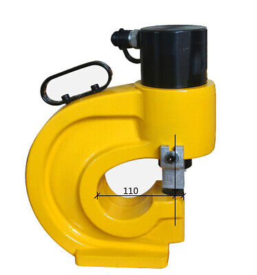 Hydraulic Punching Tool Copper Angle Iron Hole Puncher 330kn Hydraulic Knockout