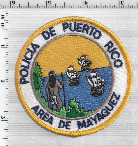 Policia de Puerto Rico Area de Mayaguez 1st Issue Shoulder Patch