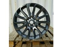 "BRAND NEW 20"" RANGE ROVER AUTOBIOGRAPHY ALLOY WHEELS X4 BOXED 5X120 DISCOVERY SPORT VOGUE TDV6 VW T5"