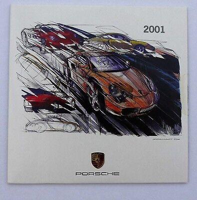 Porsche 2001 Design Calendar, with CD, Number 3098 of 6000