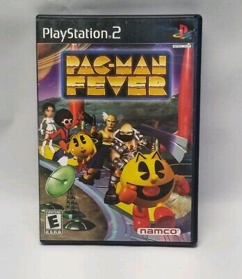 Pac-Man Fever Pacman Namco Playstation 2 PS2