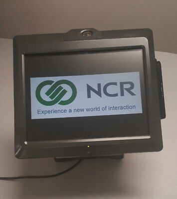 Ncr Realpos Touchscreen Pos Terminal 70xrt Model 7403-1200 W 15 Display Msr