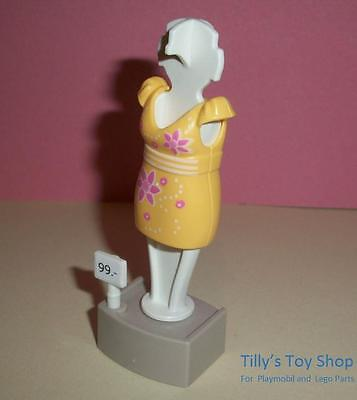 Playmobil  House/Boutique/Shop-Yellow  Dress on a Mannequin for adult - Boutique Dresses For Kids