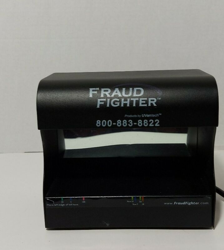 UVeritech Fraud Fighter UV-16 Counterfeit Detection Scanner great for business