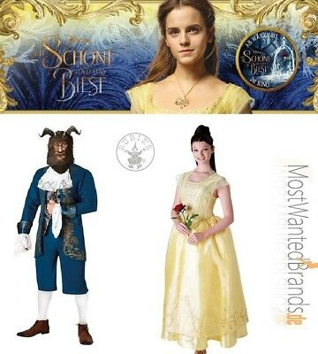 Schöne und das Biest * Live Action Movie * Adult Kostüme * Beauty and the Beast