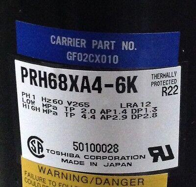 Discount Hvac Cp-p0350791 - Carrier Compressor Gf02cx010 265v R22 Free Freight