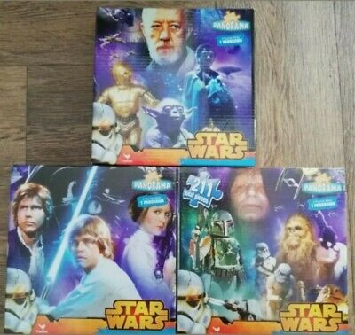 New Star Wars 211 Piece Panoramic Jigsaw Puzzle Set of 3